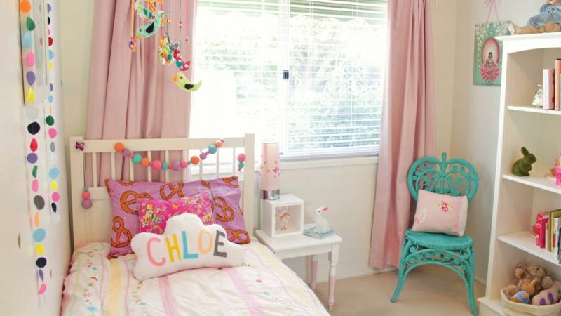 Einrichtungsideen Kinderzimmer Gestalten Mädchen Deko Ideen Pastellfarben