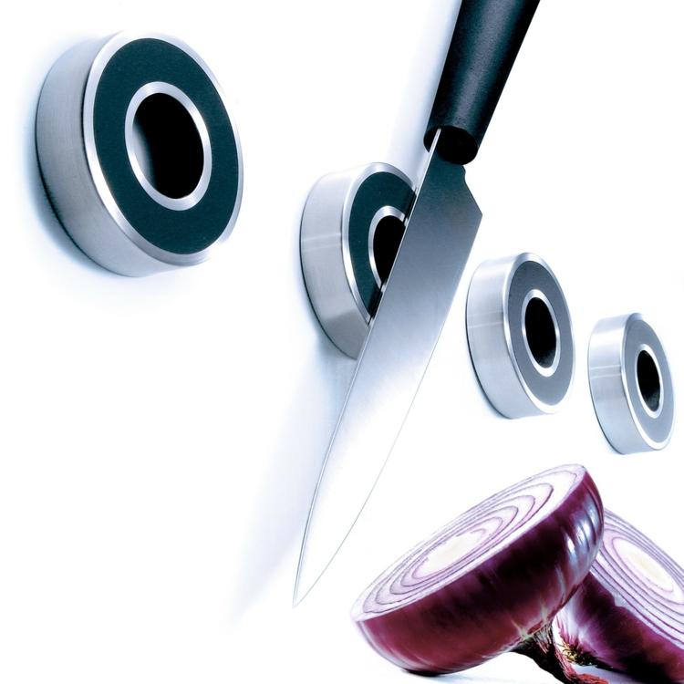 Eva Solo Messer Magnetleiste rund praktische Küchenutensilien