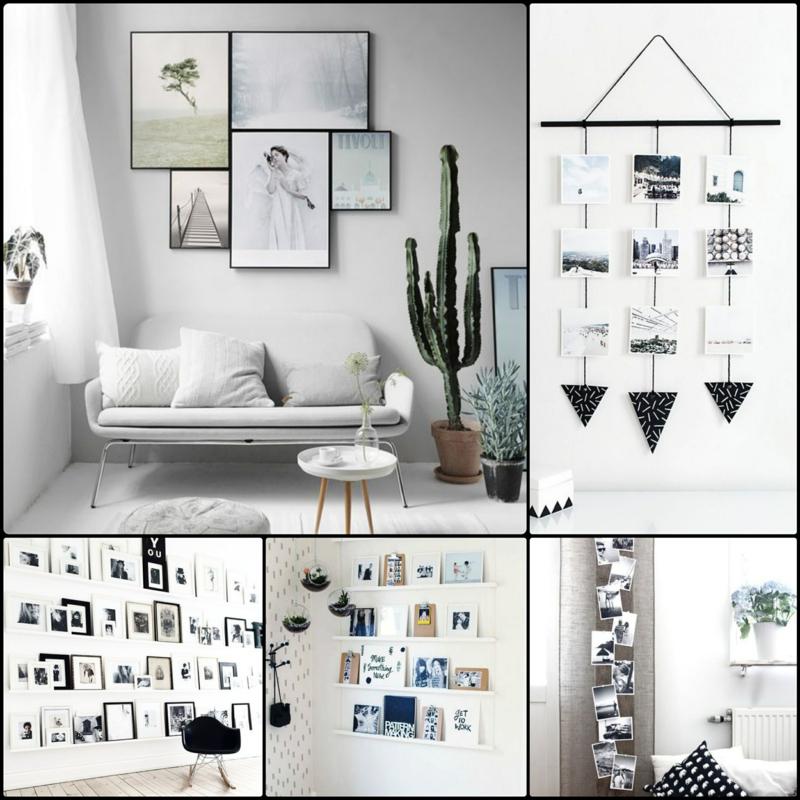 Fotowand Ideen wie können Sie eine Fotowand selber machen