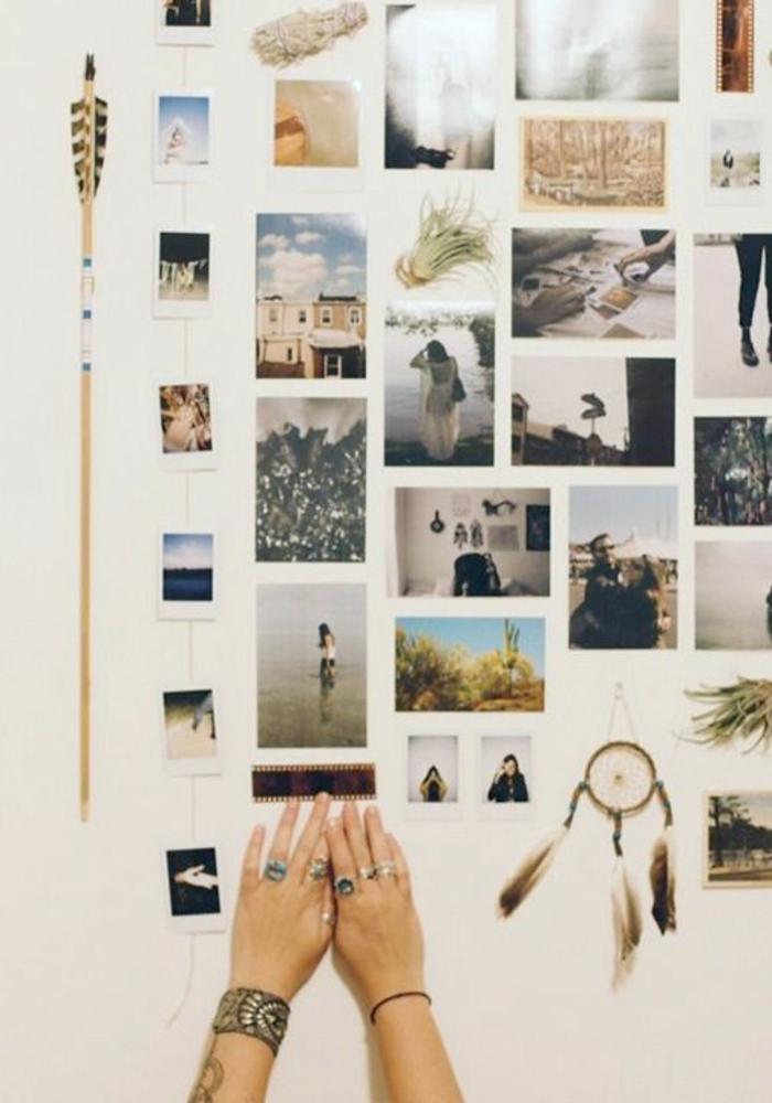 Fotowand Selber Machen DIY Projekte Wandgestaltung Mit Bildern