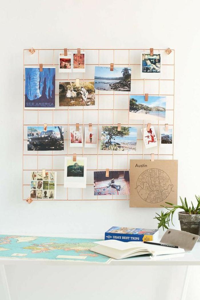 Erstaunlich Fotowand Selbst Machen Kreative Fotowand Ideen Arbeitsplatz Wand Fotowand  Selber Machen ...