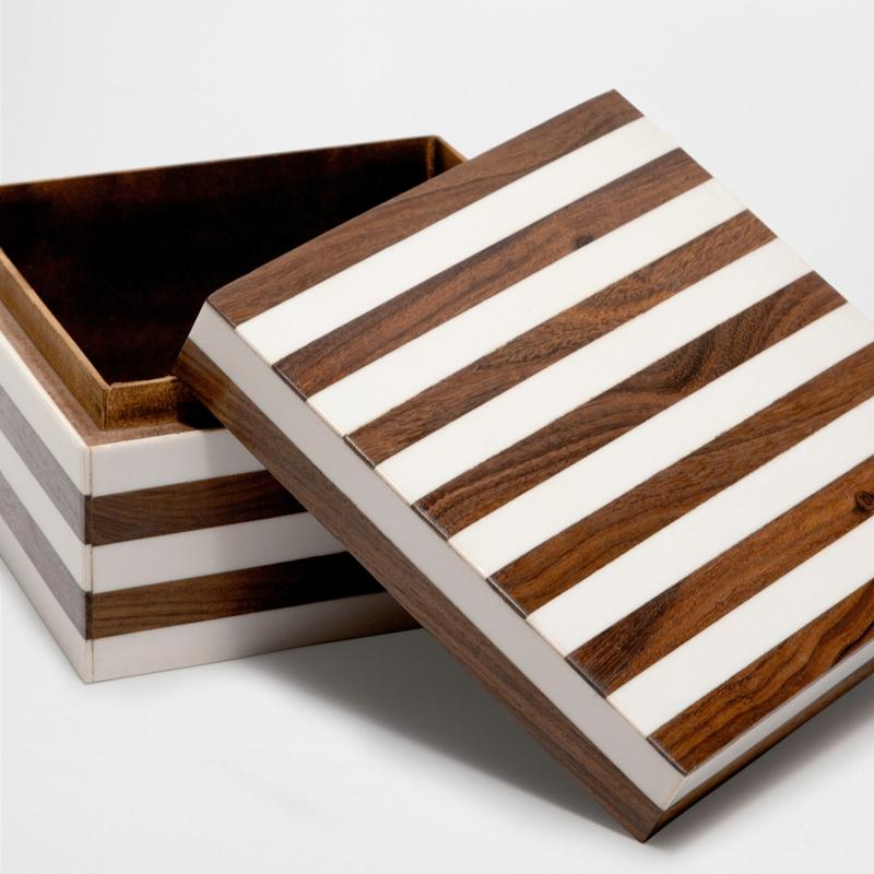 Geschenkideen Valentinstag für Männer Zara Home Deutschland Holzbox