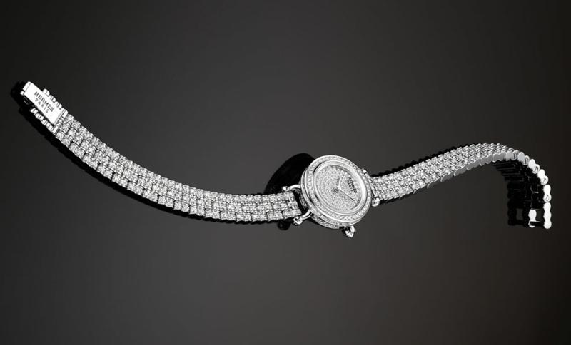 Hermes Damenuhren elegantes Design Damen Armbanduhr
