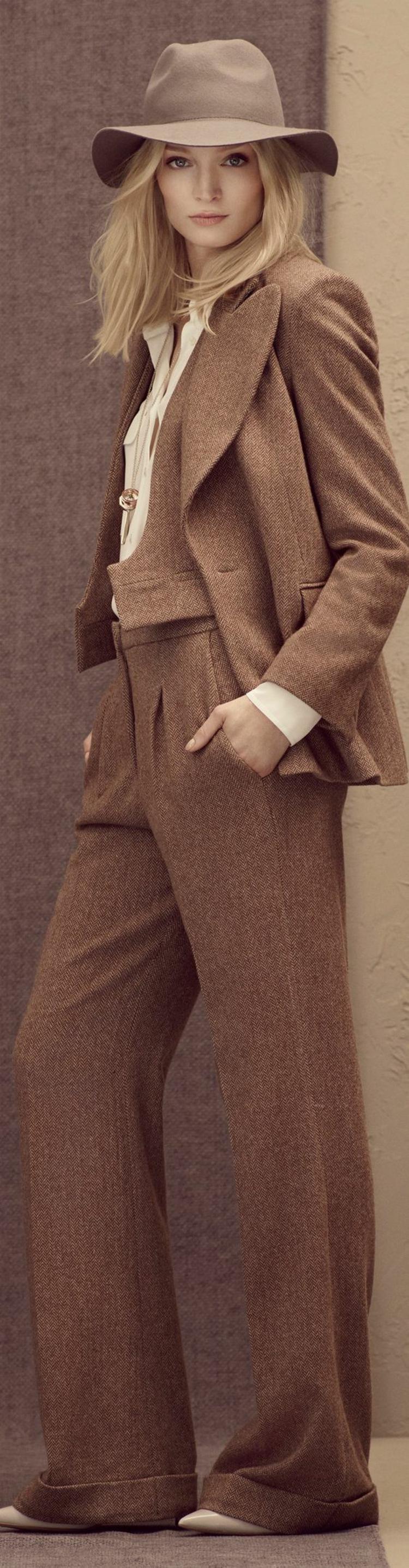 Hut Damen Retro Damenmode und Stylingstipps