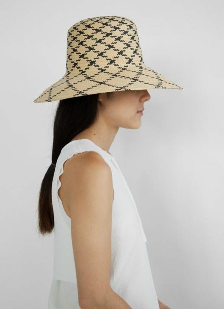 Hut Damen Strohhut Muster Damenmode und Stylingstipps