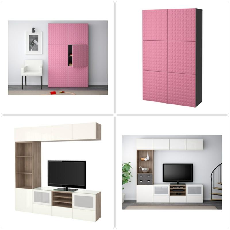 ikea besta system stilvolle m belkollektion f r mehr stauraum. Black Bedroom Furniture Sets. Home Design Ideas