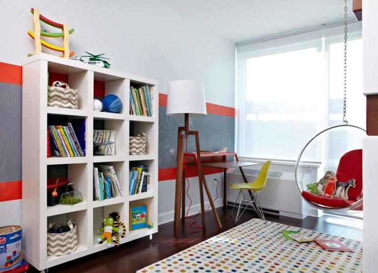 kinderzimmer jungen ikea: hochbett selber bauen mit ikea möbeln