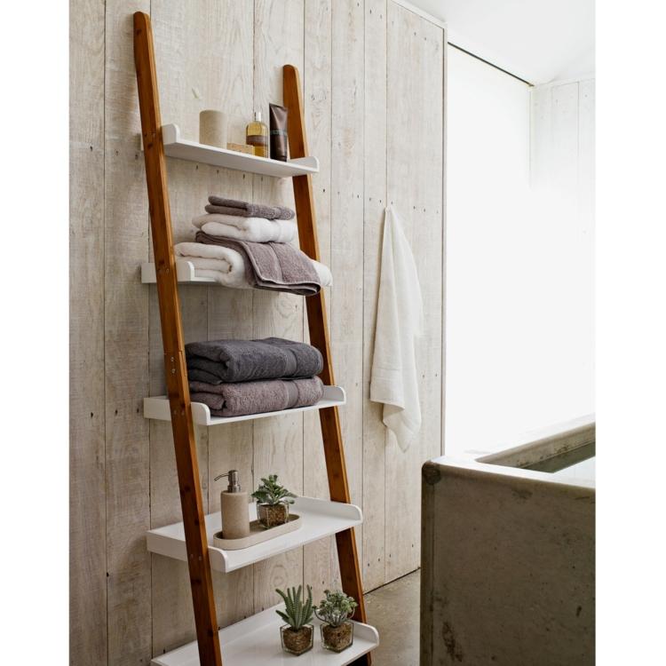 Ikea Regale Badezimmer Regale Holzleiter