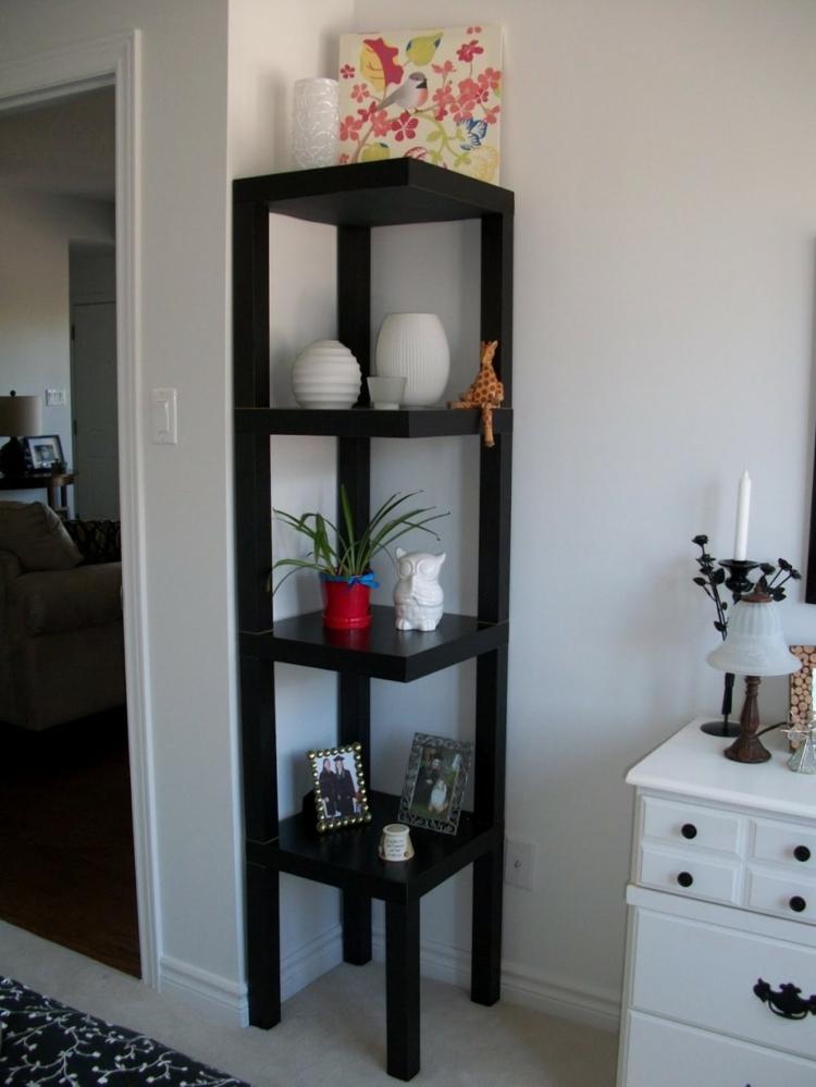 wohnzimmergestaltung ikea:Einrichtungsideen mit Ikea Regalen: So ...