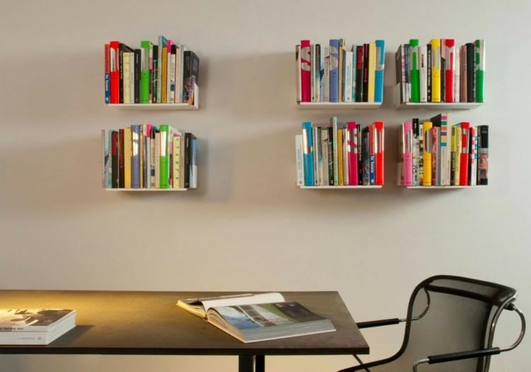 Wandregale Bücherregale ikea regale einrichtungsideen für mehr stauraum zu hause