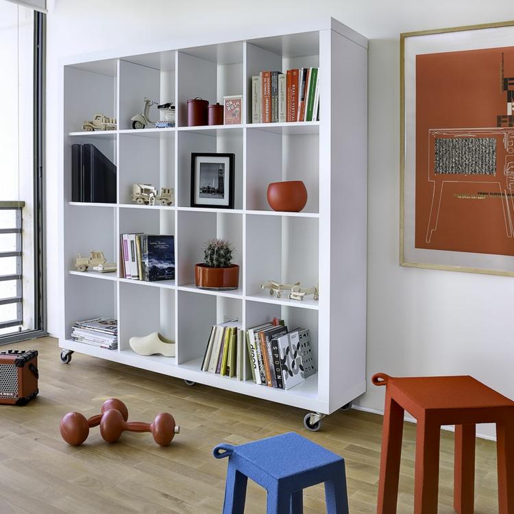 Ikea Regale Wohnzimmer Regale Holz weiß Stauraum