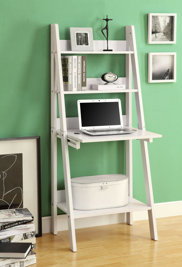 Ikea Regale Wohnzimmer Regale Stauraum Holzleiter Laptoptisch