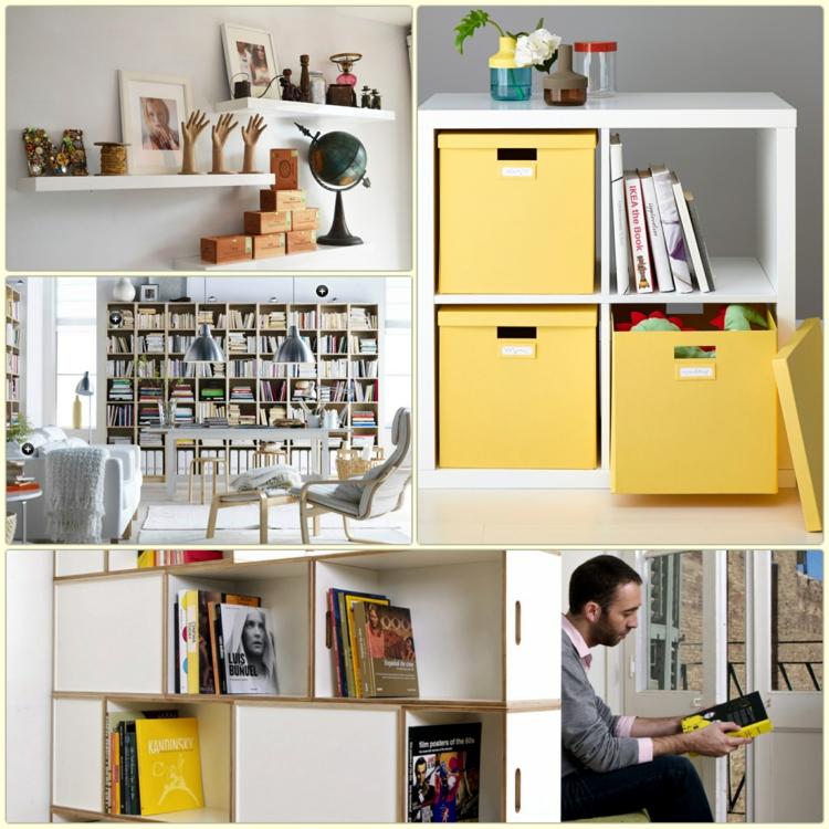 Ikea Regale Moderne Rgalsysteme Stauraum Einrichtungsideen