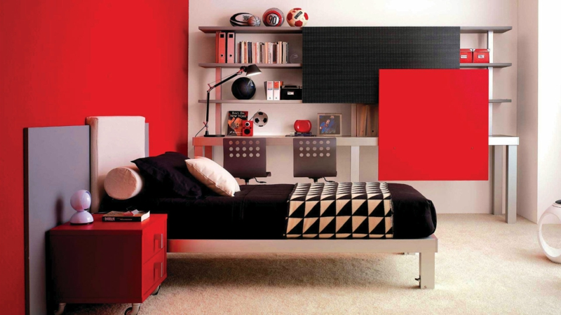 jugendzimmer ideen so gestalten sie ein jugendendzimmer. Black Bedroom Furniture Sets. Home Design Ideas