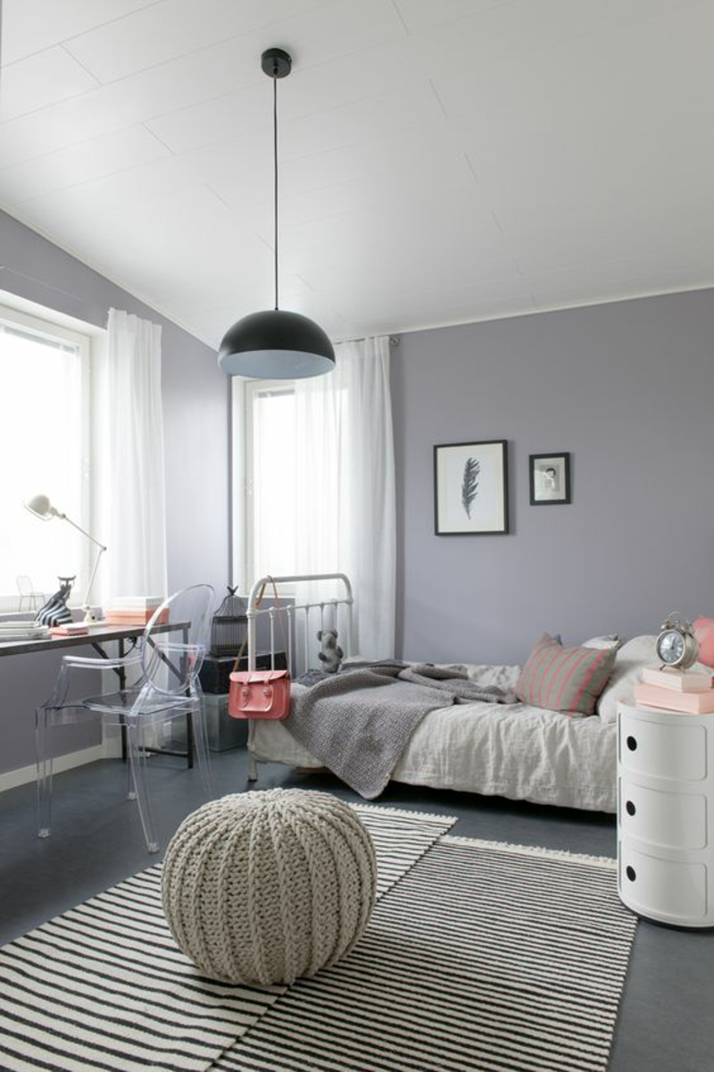 Jugendzimmer ideen so gestalten sie ein jugendendzimmer for Bedroom color inspiration pinterest