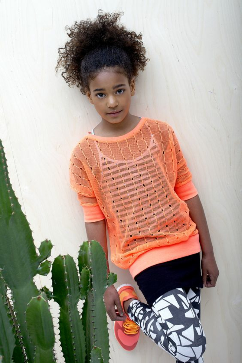 Kinderbekleidung Mädchen Trends Sportmode