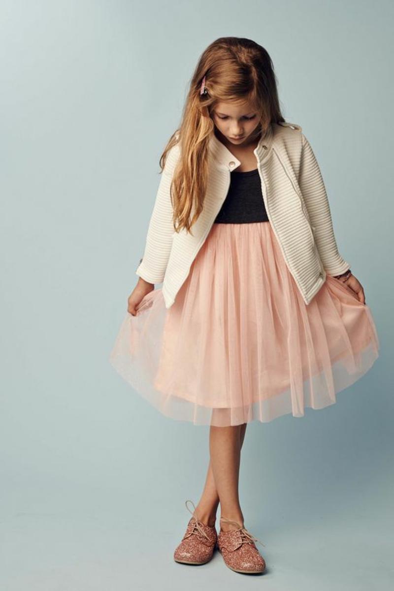 Kinderkleidung Kindermode Trends Prinzessinnen Tüllrock