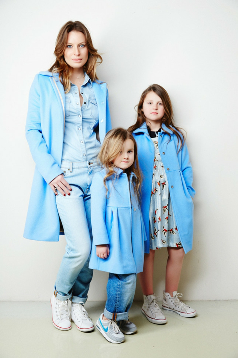 Kindermode Trends 2016 Bilder Mutter Tochter Look