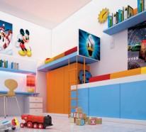 Facebook Twitter Google+ Pinterest · Kinderzimmer Junge Kindermöbel  Wandfarbe Blau