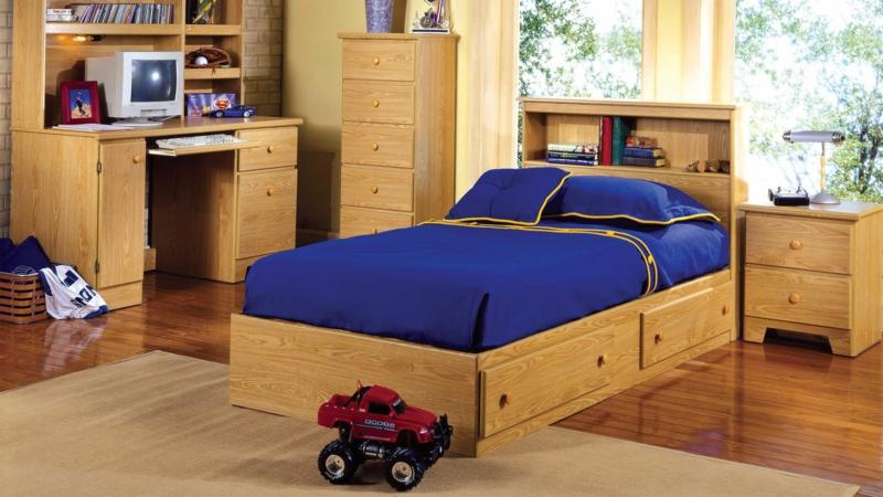 Kinderzimmer Junge Kindermöbel aus Holz