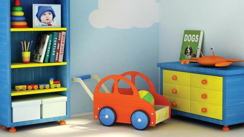 Kinderzimmer Junge Kindermöbel und Kinderspielzeuge