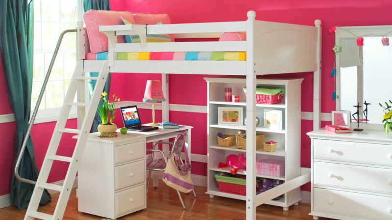kinderzimmer m dchen 60 einrichtungsideen f r m dchenzimmer. Black Bedroom Furniture Sets. Home Design Ideas