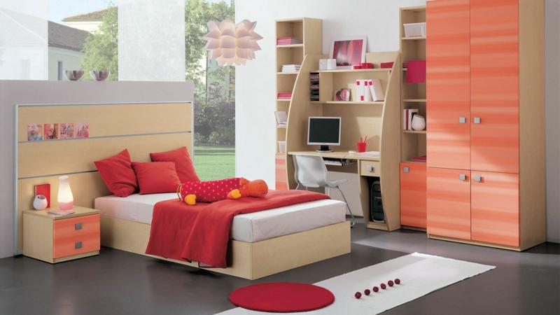 kinderzimmer mädchen: 60 einrichtungsideen für mädchenzimmer - Farbgestaltung Kinderzimmer