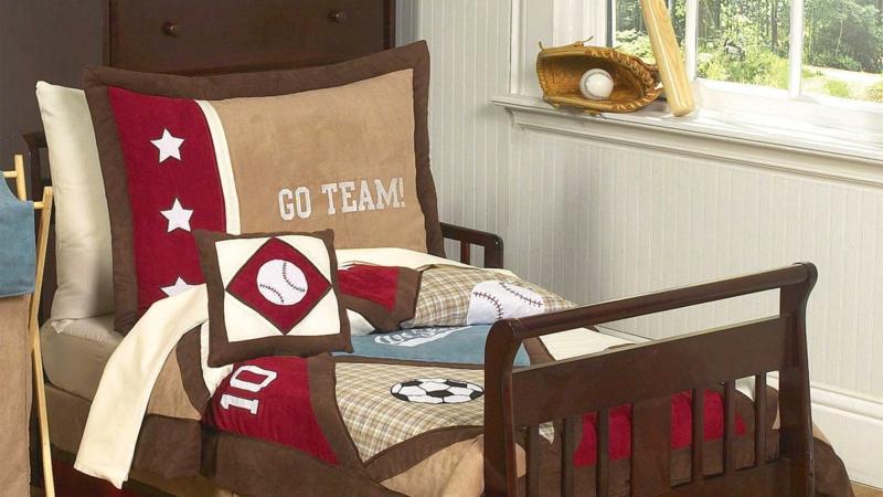 Kinderzimmer für Jungs Ideen Einrichtung Fußball Kinderbettwäsche