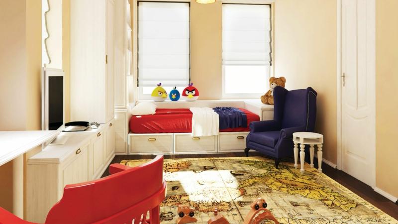 Kinderzimmer für Jungs Ideen Einrichtungsbeispiele Angry Birds