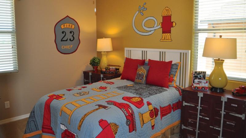 Kinderzimmer für Jungs Ideen Einrichtungsbeispiele Bettwäsche