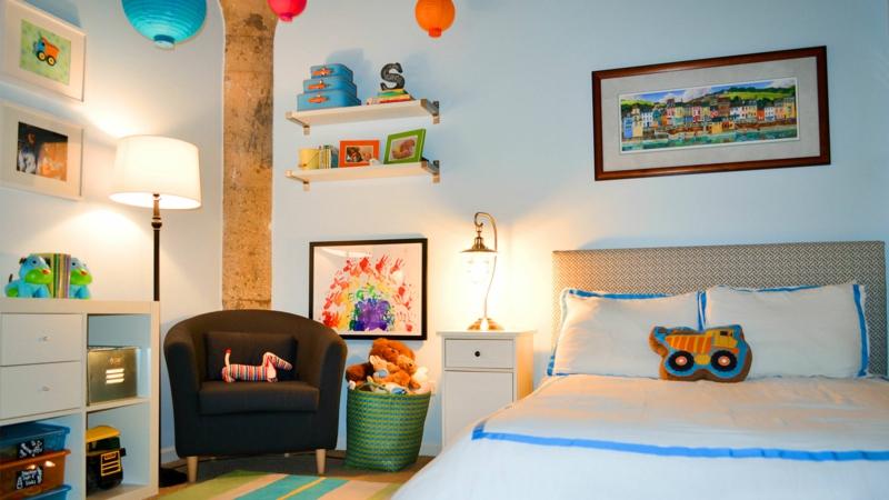 Kinderzimmer für Jungs Ideen Einrichtungsbeispiele Dekoartikel