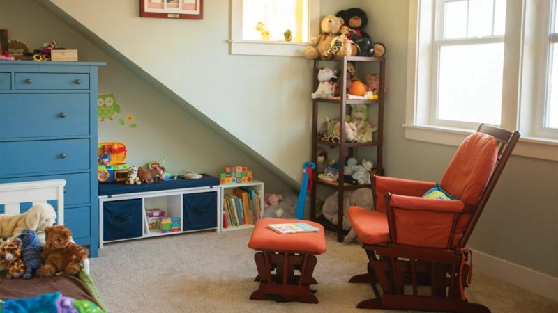 Kinderzimmer für Jungs Ideen Einrichtungsbeispiele Spielecke