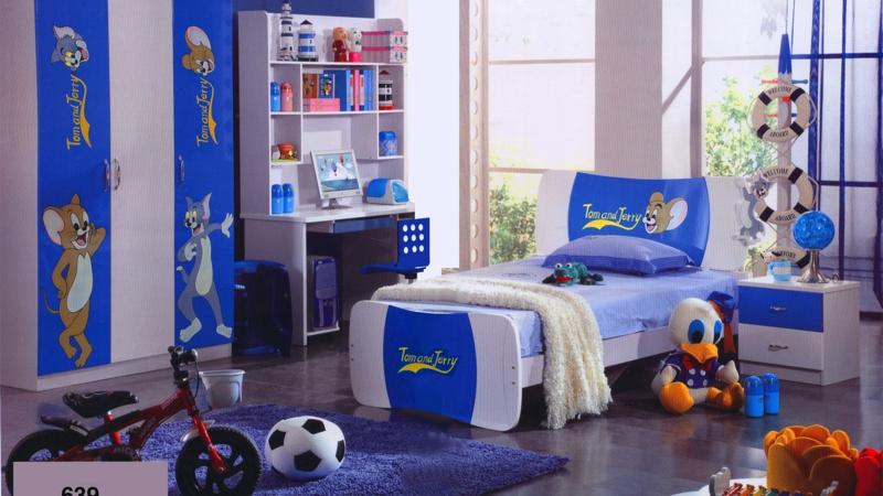 Kinderzimmer für Jungs Ideen Kinderbettwäsche Tom und Jerry