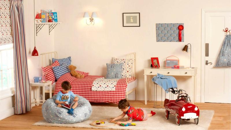 Kinderzimmer für Jungs Ideen gemütliche Einrichtung