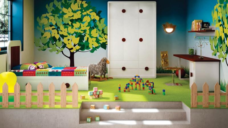 Kinderzimmer für Jungs Ideen originelle Einrichtungsbeispiele