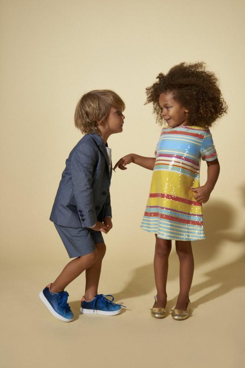 Kinterbekleidung festliche Kindermode Trends