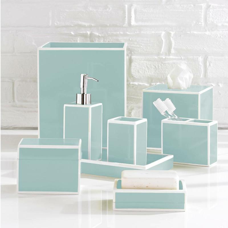 Luxus Badaccessoires Porzellan modernes Badezimmer einrichten