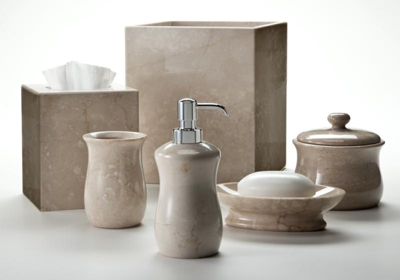 Luxus Badaccessoires Set Badzubehör Badezimmer einrichten