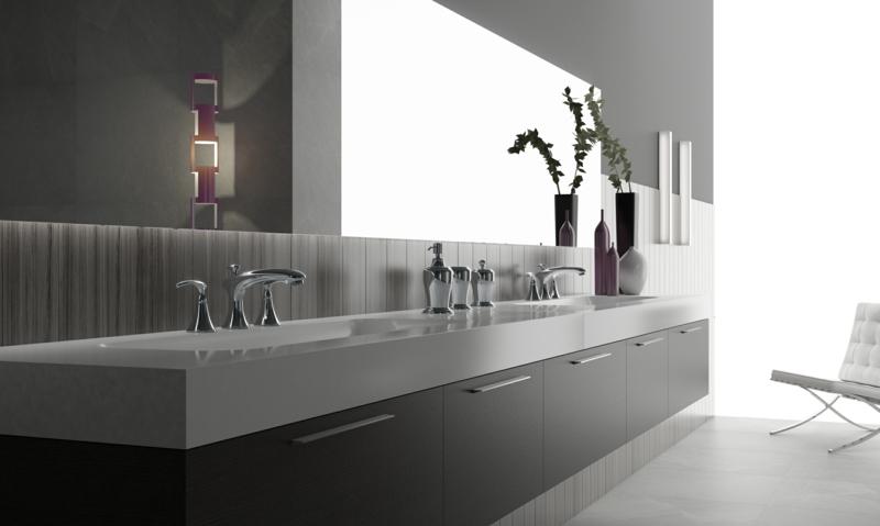 Luxus Badaccessoires modernes Badezimmer einrichten