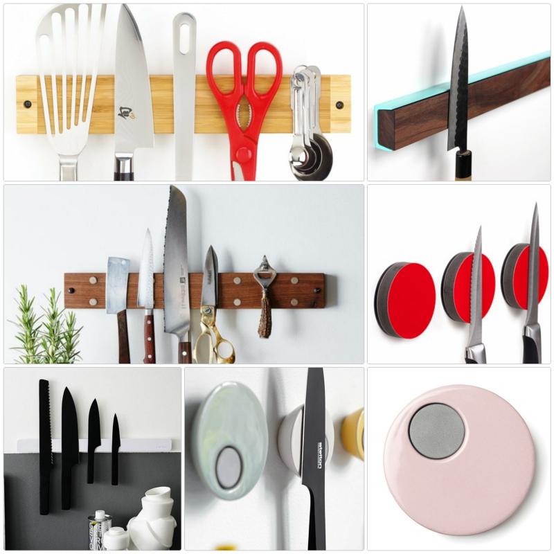 Messer Magnetleiste Küchenzubehör Küchenideen