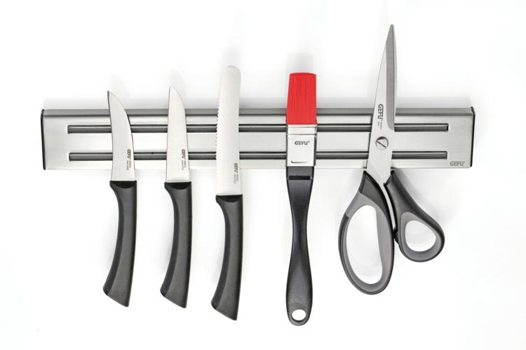 Messer Magnetleiste Messer an der Küchenwand Küchenzubehör