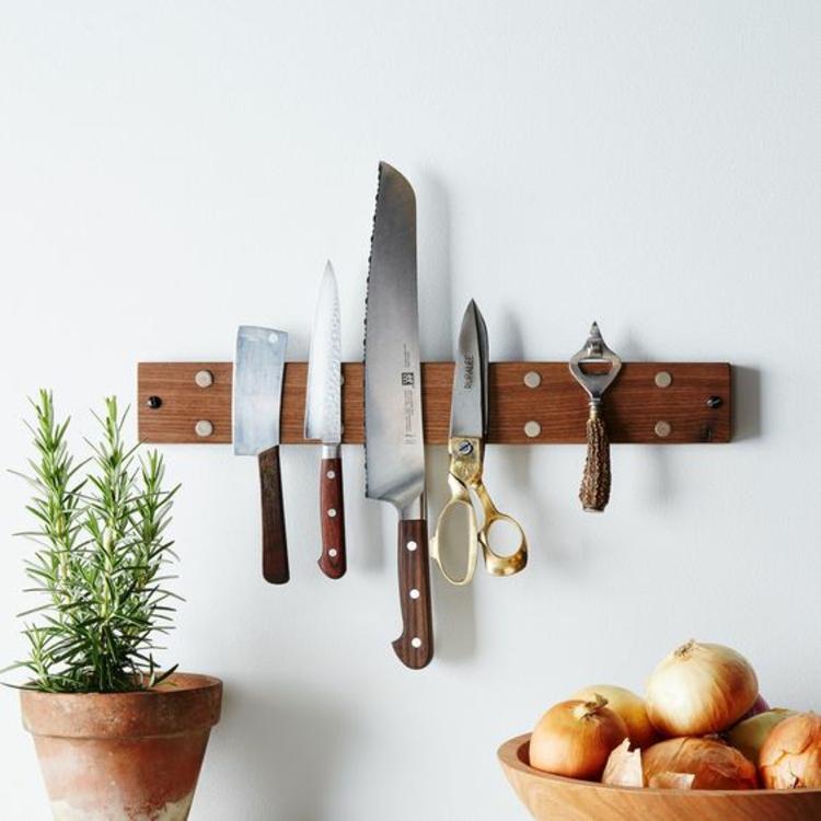 Messer Magnetleiste platzsparendes Küchenzubehör
