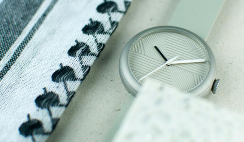 Quarz Armbanduhr Schweizer Uhren Objest Hach