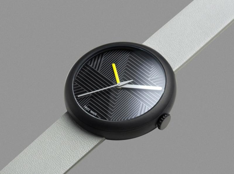 Quarz Armbanduhren weiß schwarz Schweizer Luxusuhren Objest
