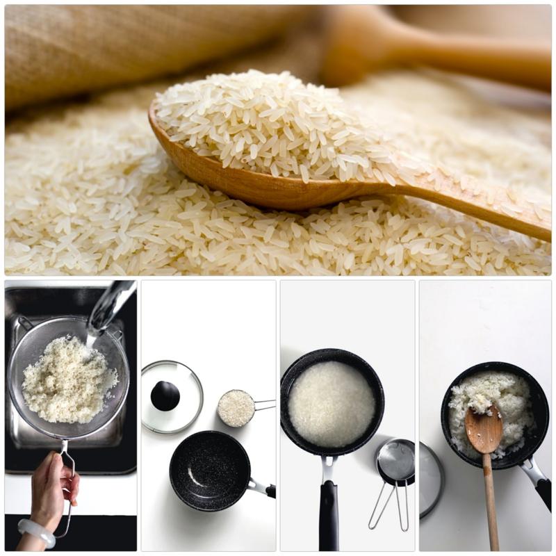 Reis richtig kochen aber wie Anleitung