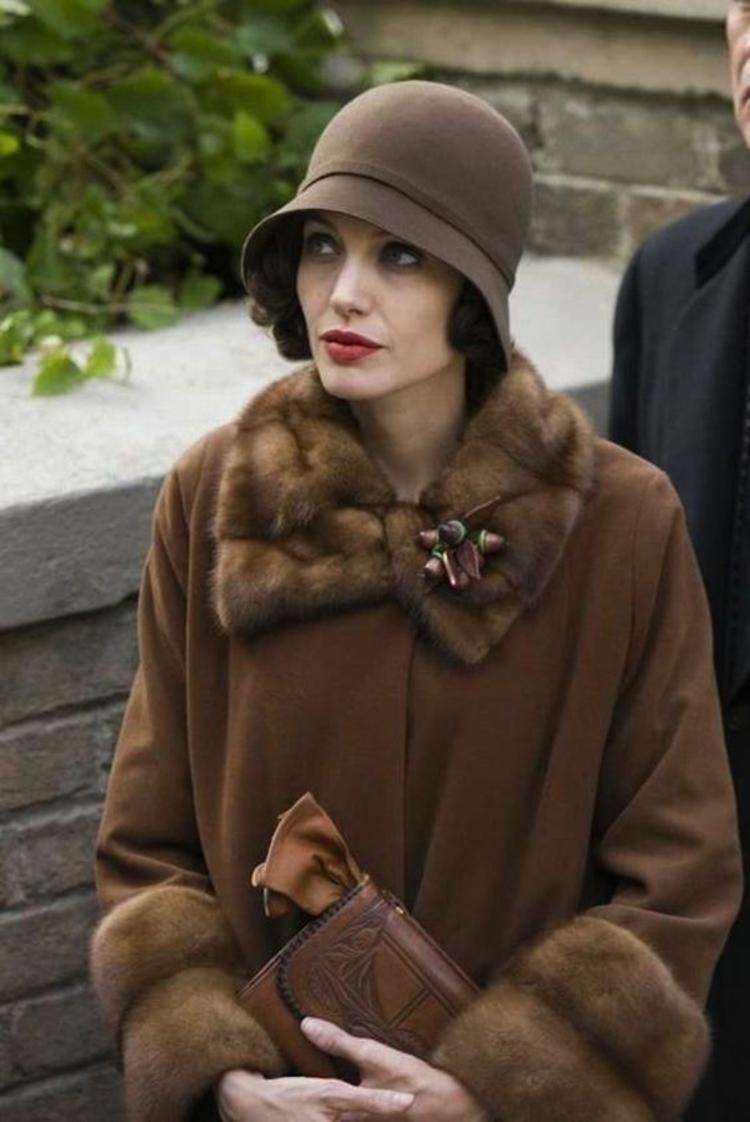Retro Damenhüte Angelina Jolie Damenmode und Stylingstipps