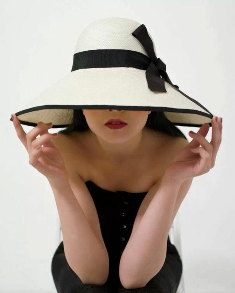 Retro Damenhüte Damenmode und Stylingstipps Sommerhut Modelle