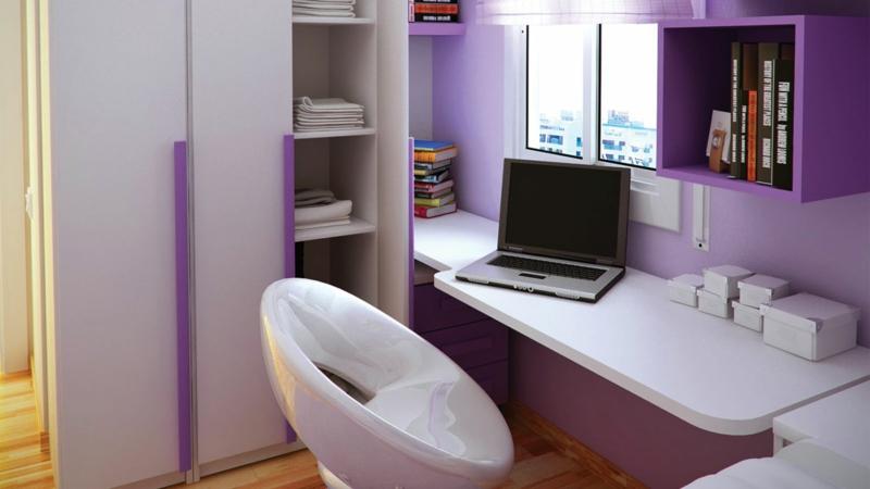 Schreibtisch Jugendzimmer Ideen Jugendzimmermöbel Laptop