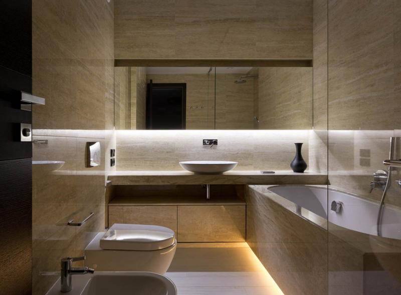 Shore House NOTT Design Studio Wohnung Gestaltungsideen modernes Bad