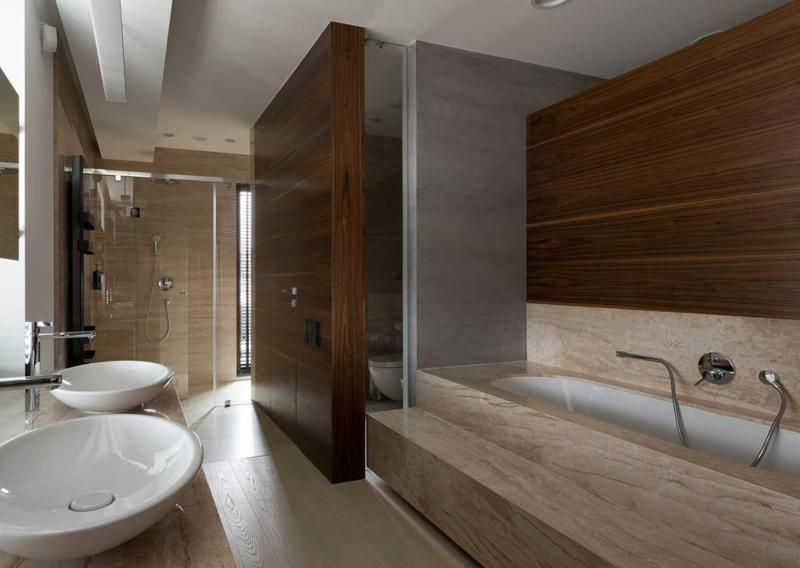 Shore House NOTT Design Studio Wohnungsgestaltung Badezimmer
